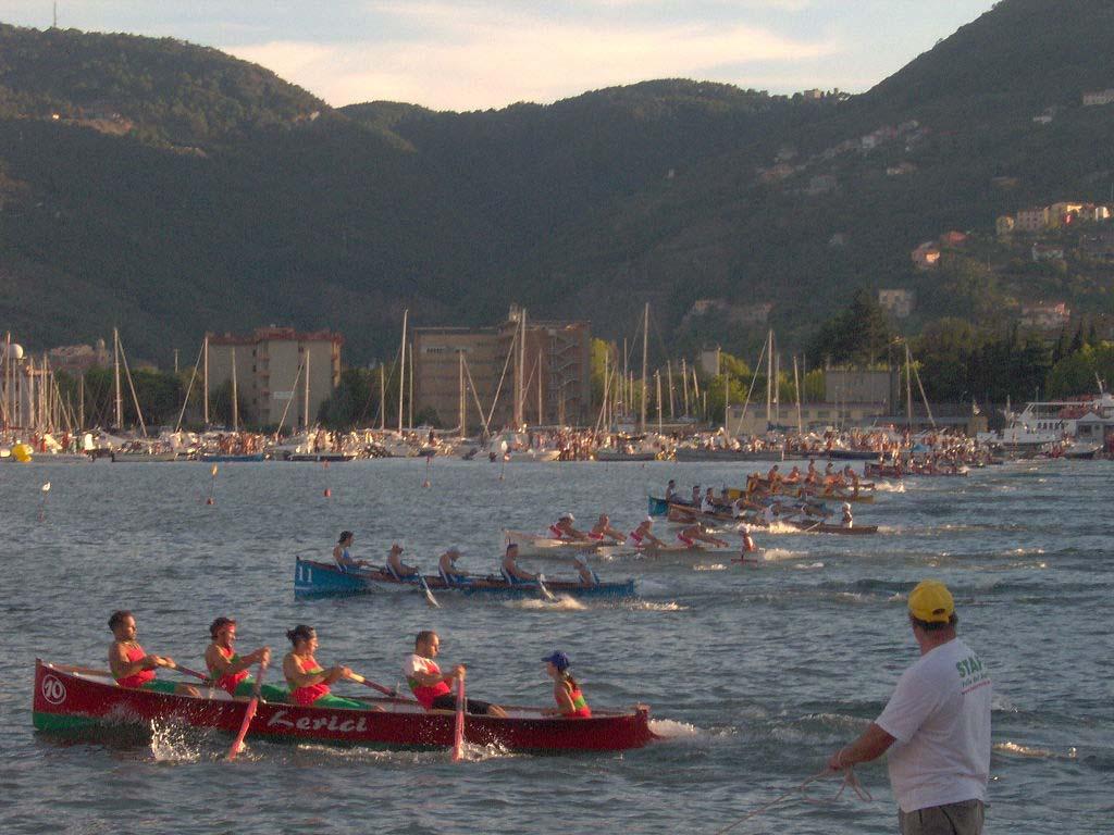 Festa del mare La Spezia Partenza del Palio